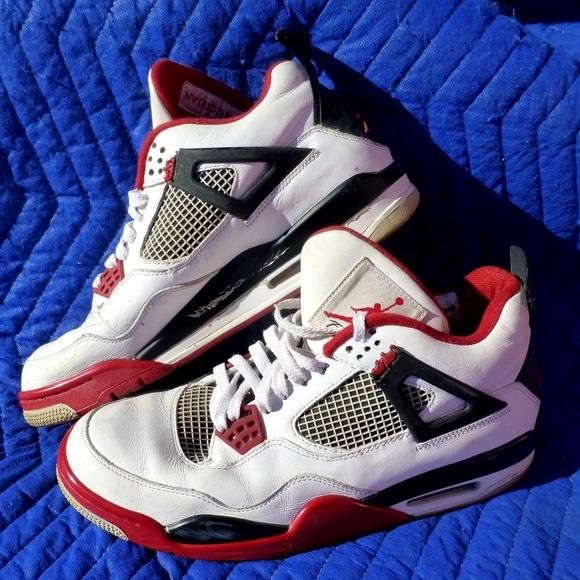 quality design f76fc bced5 Men s Nike 308497-110 Air Jordan 4 Retro - Size 11.  M 5c467aff819e903e9bc7ba9b